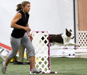 Our first agility trial!!